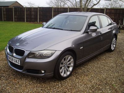 BMW 3 Series 2.0 320i SE 4dr Saloon Petrol GreyBMW 3 Series 2.0 320i SE 4dr Saloon Petrol Grey at Silverstone Car Sales Worksop
