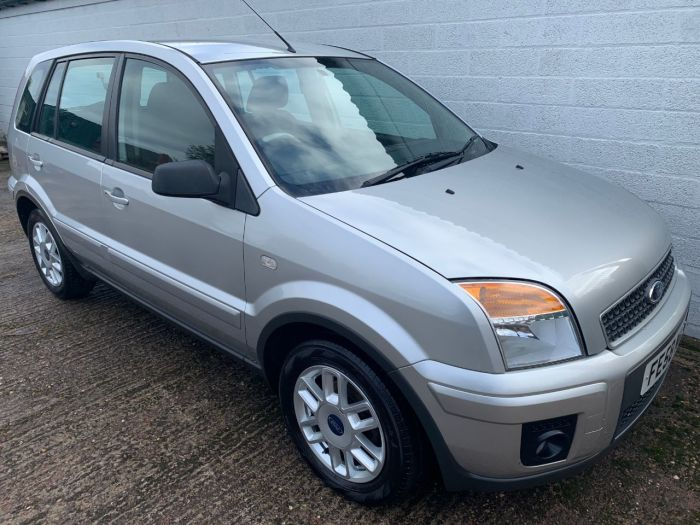 Ford Fusion 1.4 Zetec 5dr [Climate] Hatchback Petrol Silver