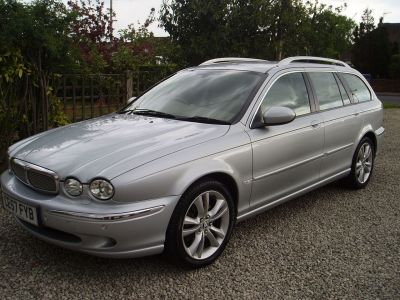 Jaguar X-Type 2.2d Sovereign 5dr Estate Diesel SilverJaguar X-Type 2.2d Sovereign 5dr Estate Diesel Silver at Silverstone Car Sales Chesterfield