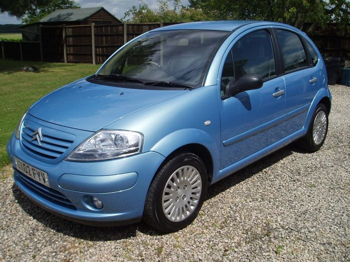 Citroen C3 1.6i 16V Exclusive 5dr Hatchback Petrol Blue