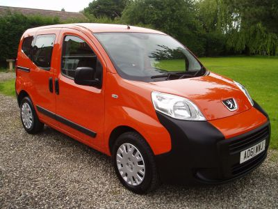 Peugeot Bipper Tepee 1.3 HDi 75 S 5dr EGC MPV Diesel OrangePeugeot Bipper Tepee 1.3 HDi 75 S 5dr EGC MPV Diesel Orange at Silverstone Car Sales Mansfield