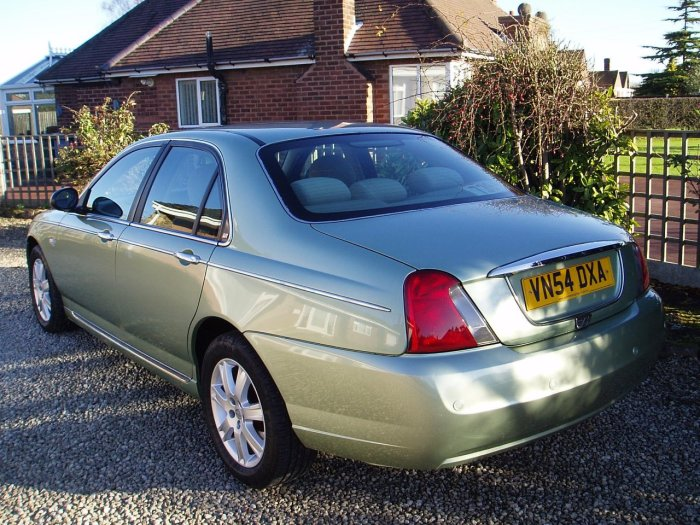 second hand rover 75 2 0 cdti connoisseur 4dr for sale in. Black Bedroom Furniture Sets. Home Design Ideas