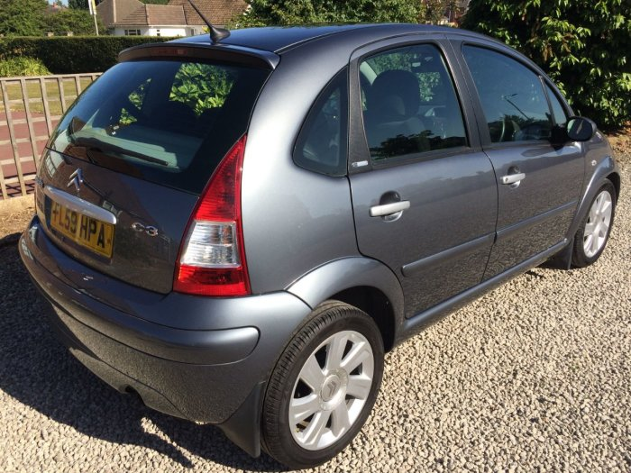 Citroen C3 1.6 HDi 16V Exclusive 5dr Hatchback Diesel Grey