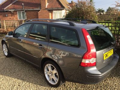 Volvo V50 1.6D SE 5dr Estate Diesel GreyVolvo V50 1.6D SE 5dr Estate Diesel Grey at Silverstone Car Sales Mansfield