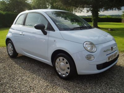 Fiat 500 1.3 Multijet Pop 3dr Hatchback Diesel BlueFiat 500 1.3 Multijet Pop 3dr Hatchback Diesel Blue at Silverstone Car Sales Mansfield