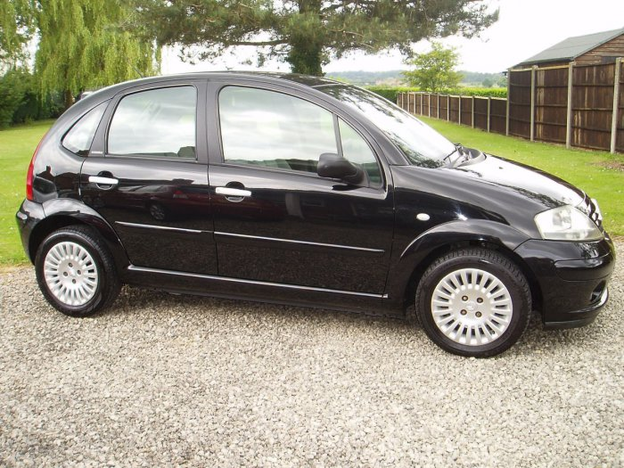 Citroen C3 1.4 HDi 16V Exclusive 5dr Hatchback Diesel Black