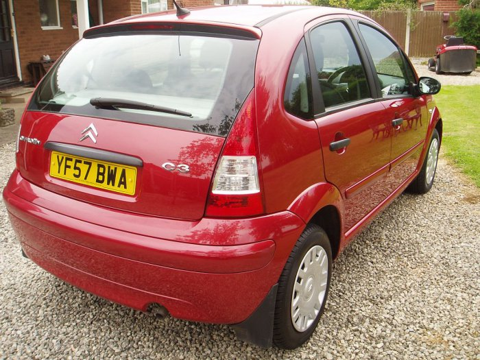 Citroen C3 1.4i SX 5dr Hatchback Petrol Red