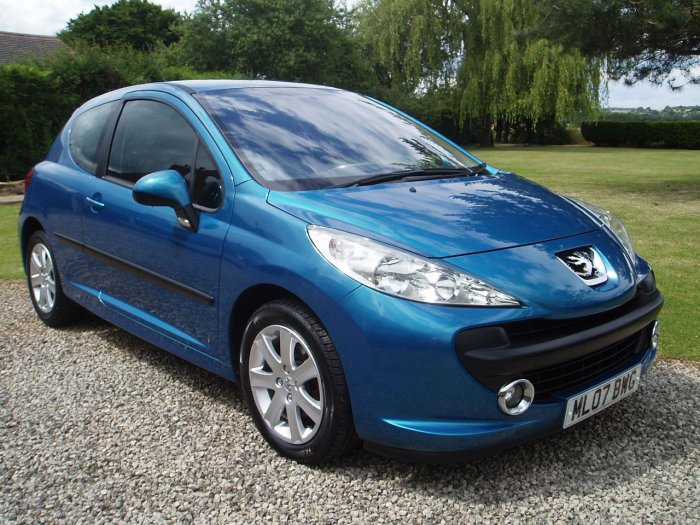 used peugeot 207 1 6 hdi 90 sport 3dr for sale in chesterfield derbyshire silverstone car sales. Black Bedroom Furniture Sets. Home Design Ideas