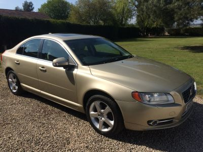 Volvo S80 3.2 SE Lux 4dr Geartronic Saloon Petrol GoldVolvo S80 3.2 SE Lux 4dr Geartronic Saloon Petrol Gold at Silverstone Car Sales Mansfield