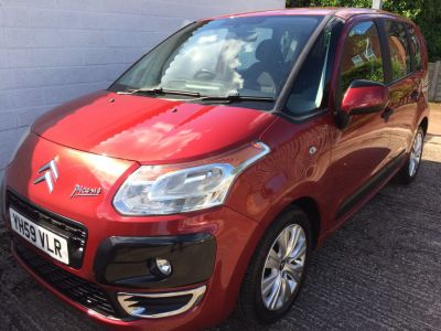 Citroen C3 Picasso 1.6 HDi 16V VTR+ 5dr MPV Diesel RedCitroen C3 Picasso 1.6 HDi 16V VTR+ 5dr MPV Diesel Red at Silverstone Car Sales Mansfield
